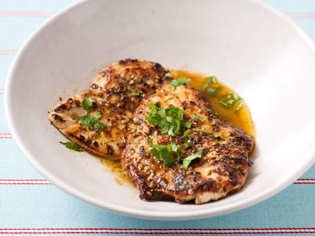 Lemon Cilantro Chicken picture from here: http://www.kitchendaily.com ...