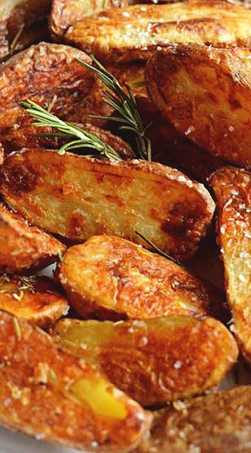 Crispy Sea Salt and Vinegar Roasted Potatoes | Recipe
