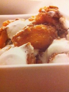 Easy crockpot recipes: Spicy Candied Sweet Potatoes Crockpot Recipe