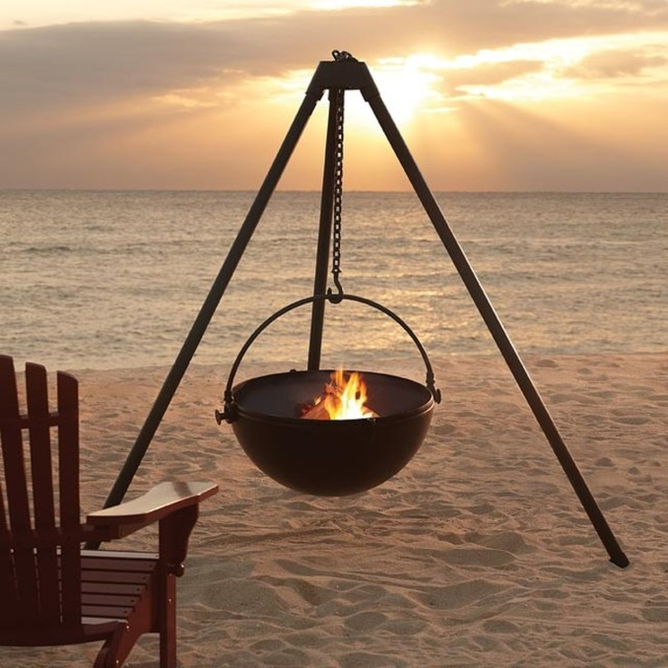 Portable Outdoor Fire Pit Grill : Urban cowboy fire pit  HOME  Creative ideas  Pinterest