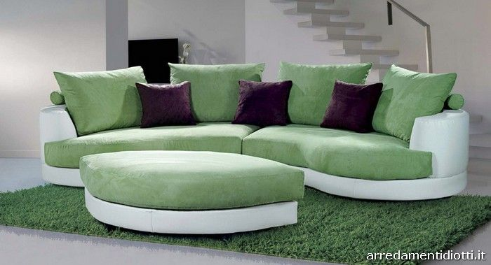 Divano verde arredo bagno pinterest - Arredo bagno verde ...