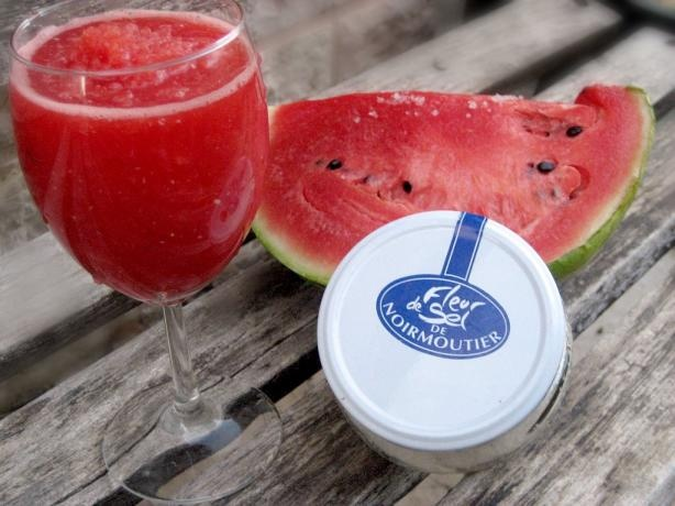 Watermelon Juice from Food.com: Fleur de Sel is used in this easy ...