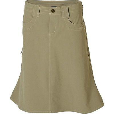 new kuhl skirt hike c travel casual khaki