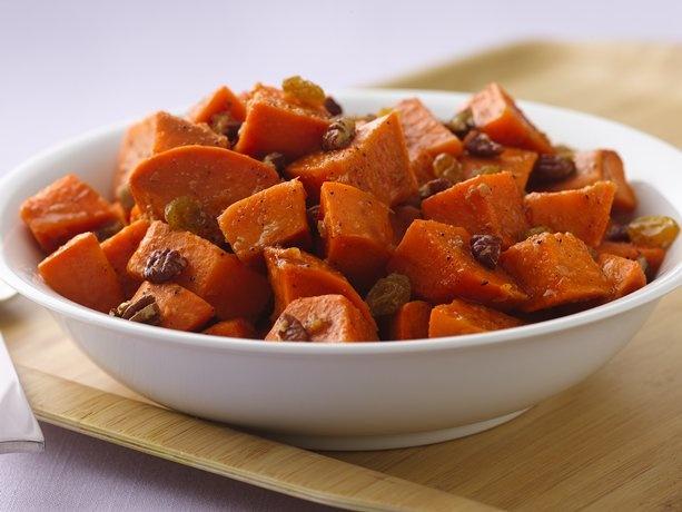 Sweet Potato Salad with Orange-Ginger Dressing | Recipe