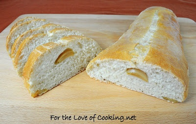 For the Love of Cooking » Roasted Garlic Italian Bread