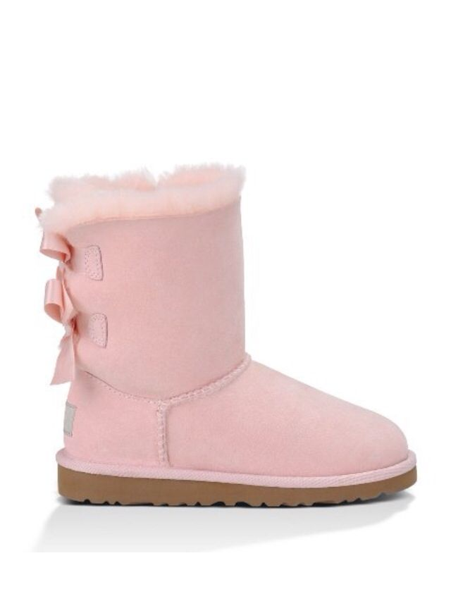 light pink uggs with bows uggs bailey boots in light. Black Bedroom Furniture Sets. Home Design Ideas
