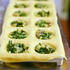 Arugula Ravioli | pasta | Pinterest