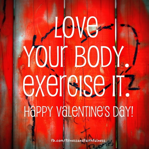 valentine's day workout songs
