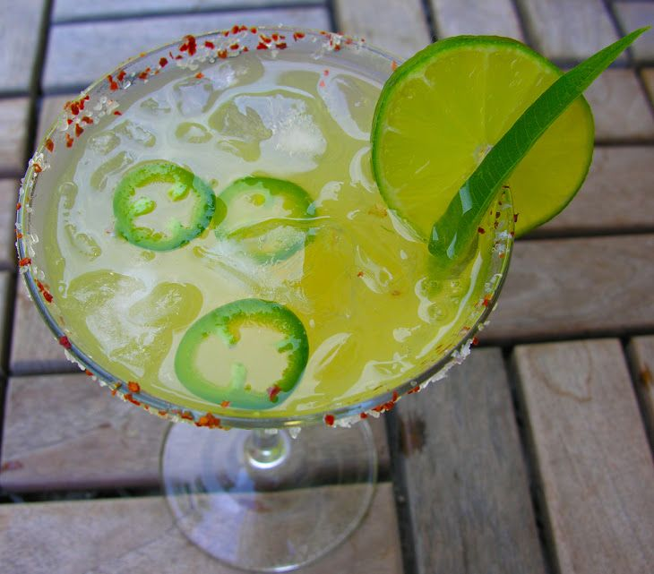 Icy Spicy Margarita Recipe | Drinks | Pinterest
