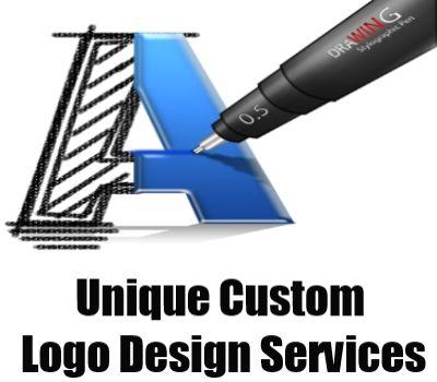 Unique custom logo design services technology pinterest for Custom design services