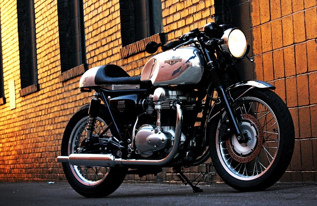 Wilkinson Brothers cafe racer