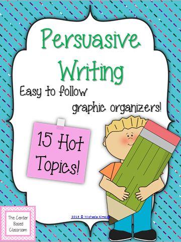 easy topics to write persuasive essays on