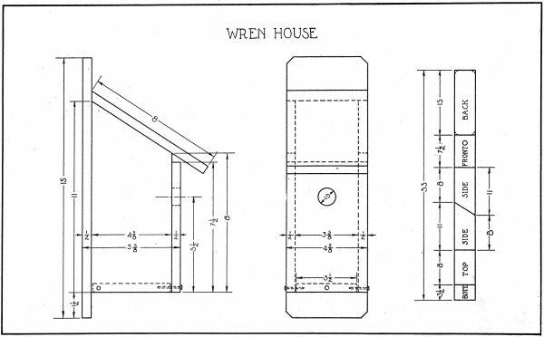 Simple Wren House Plans