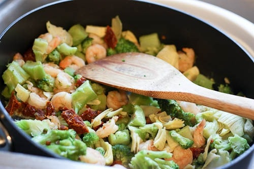 Shrimp and Broccoli Fettuccine | Ocean Delicacies | Pinterest