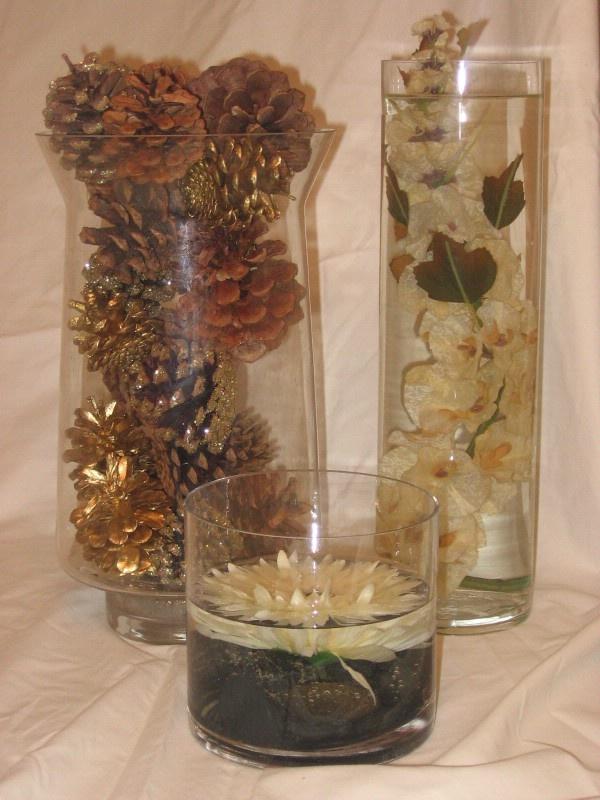 Pinecone centerpiece pine cone ideas pinterest for Pinecone centerpieces