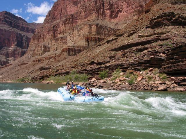 whitewater rafting in arizona grand canyon
