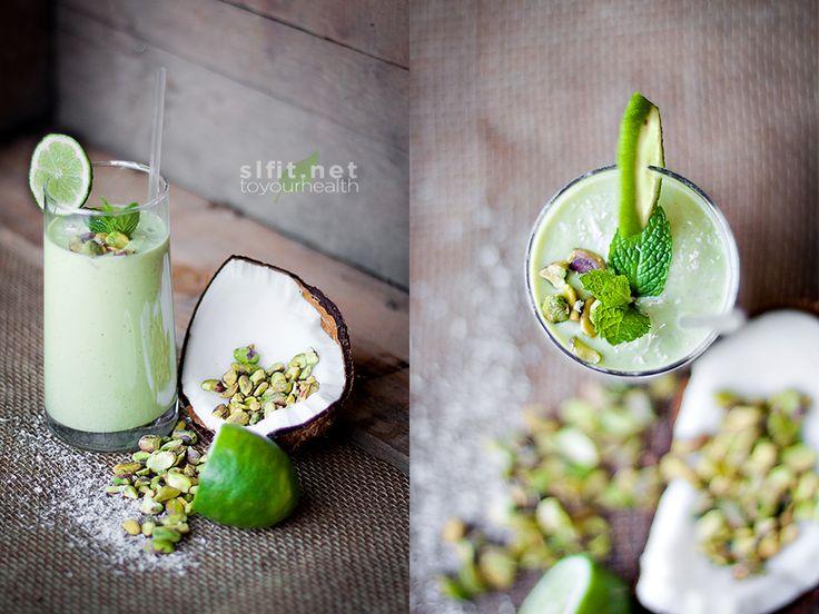 shamrock protein/egg white shake | healthy living | Pinterest