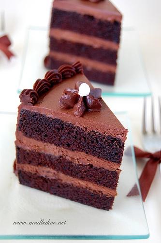 Beautiful Cake Piece Images : Chocolate Cake Slice chocolate recipes Pinterest