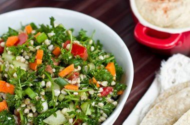 Buckwheat Tabbouleh — Punchfork | Lunch/dinner | Pinterest
