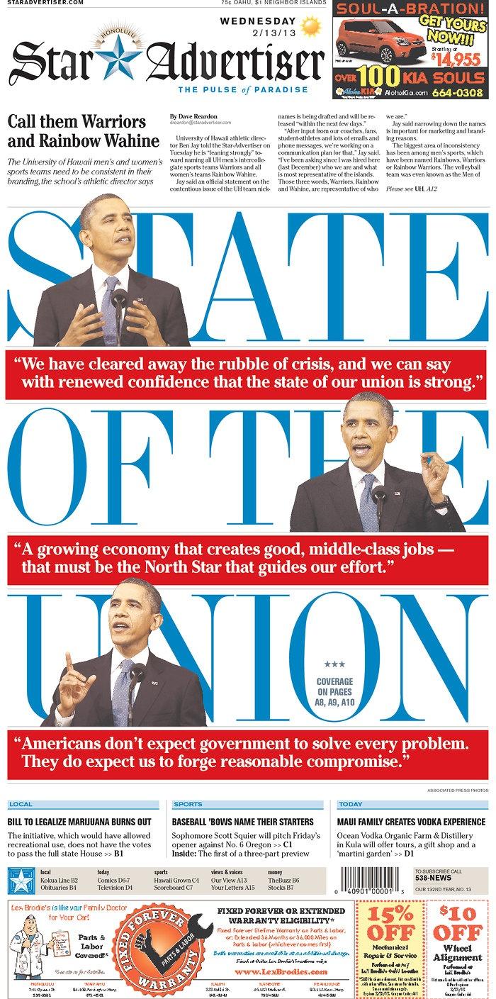 Love it – The Honolulu Star-Advertiser, published in Honolulu ...