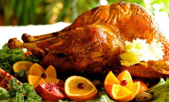 Roast Turkey with Lemon and Sage Butter yummm