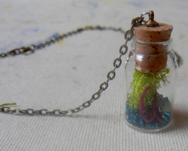 DIY Terrarium Necklace Crafty Pinterest