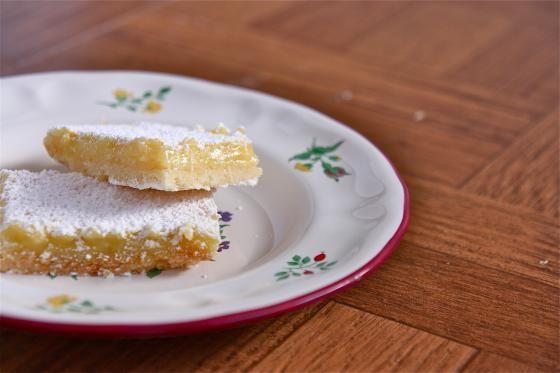 Big Sur Lemon Bars by eatliverun. Recipe from The Nepenthe CookbookI #Lemon_Bars #eatliverun #The_Nepenthe_Cookbook