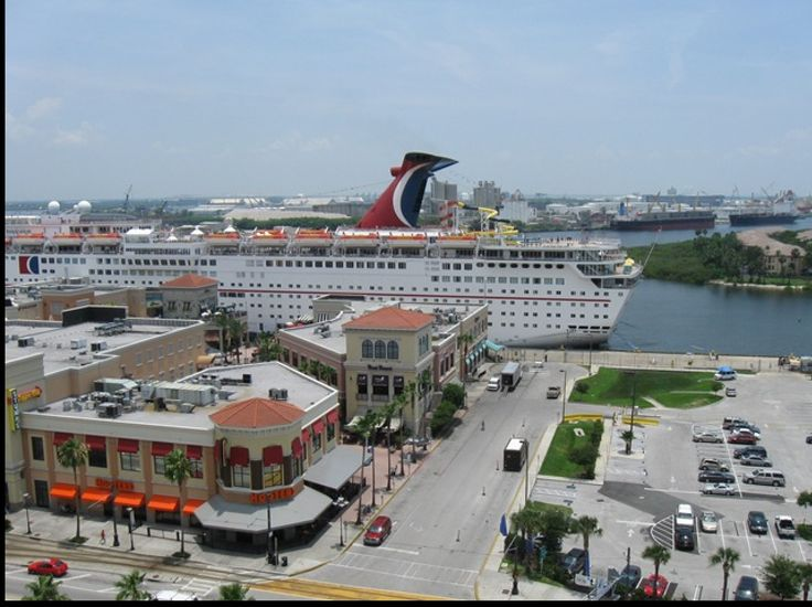 Port Of Tampa Cruise Terminal  TAMPA FL USA  History