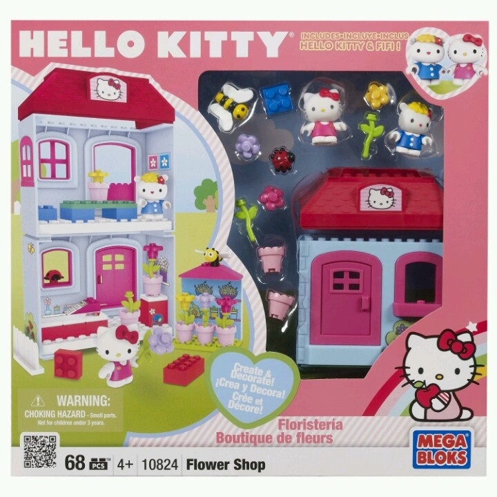 hello kitty legos  Lego Art  Pinterest