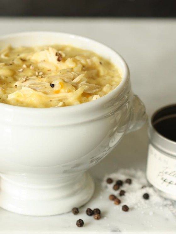 Greek Lemon & Chicken Soup yummy | Soups and Chili | Pinterest