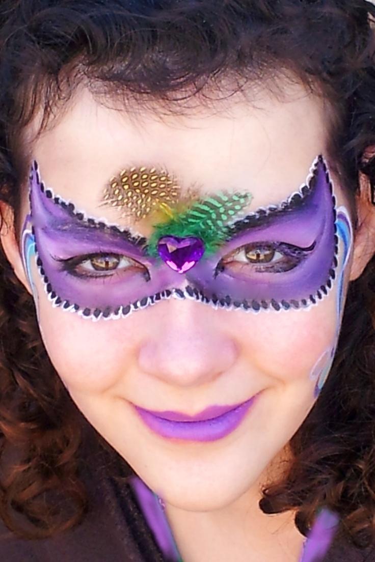 Pin face painting mardi gras mask tattoo on pinterest for Mardi gras mask tattoo