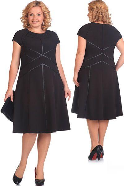 Сшить платье для полной женщины на осень 32