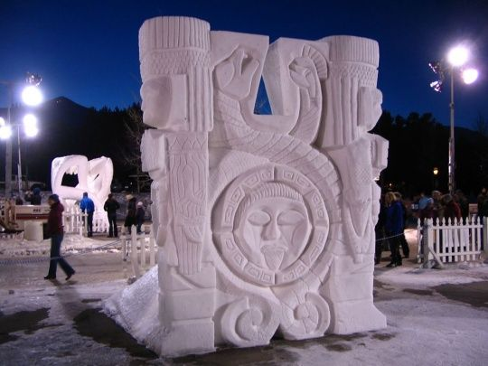 COOL Snow Sculptures