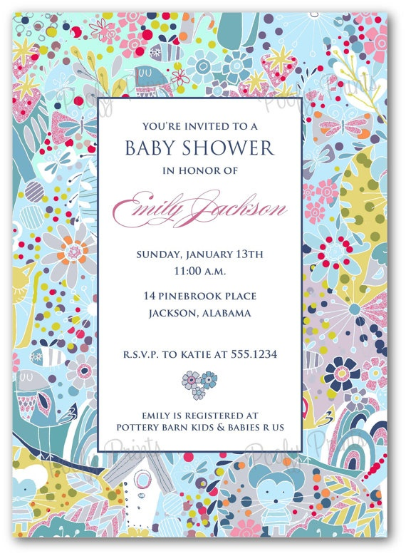 animal print baby shower invitations papier pinterest