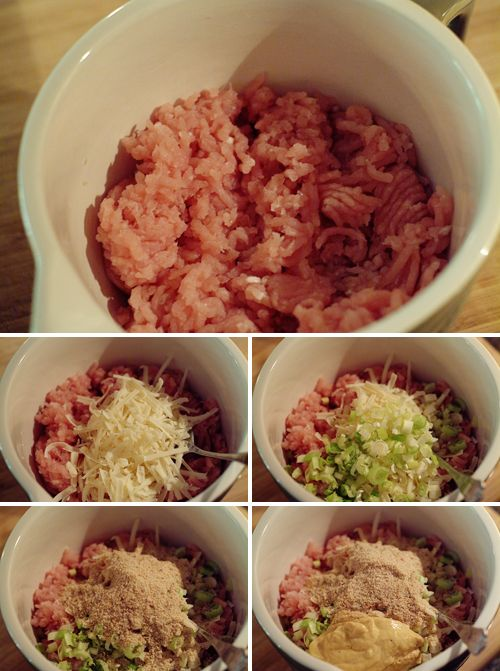 Turkey burgers 1 1/3 pound ground turkey breast 1/2 cup grated gruyere ...
