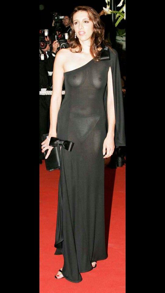 Фото прозрачного платья звезд