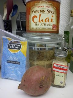 So There.: Chai Spiced Mashed Sweet Potato!