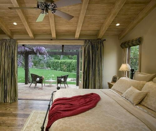 Patio Off The Master Bedroom Small House Decor Pinterest