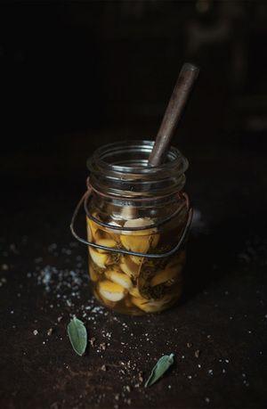 garlic confit | Salads and Dressings | Pinterest