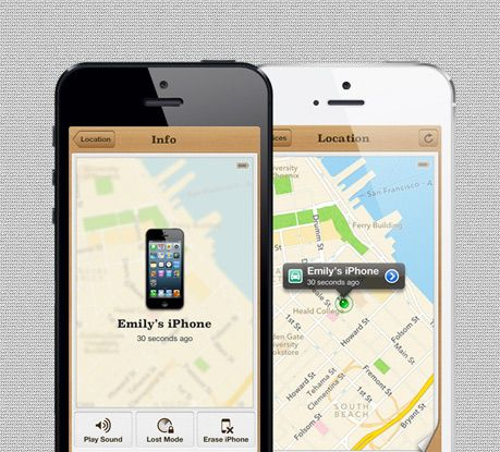 iphone app locate my car