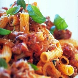 Rigatoni with fennel and sausage ragu | Marvellous Meat, Poultry and ...