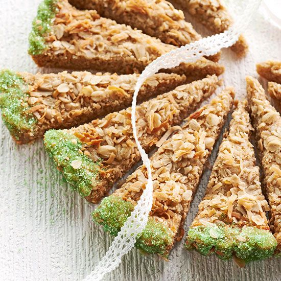 Toasted coconut makes a delectable topper for buttery shortbread in ...