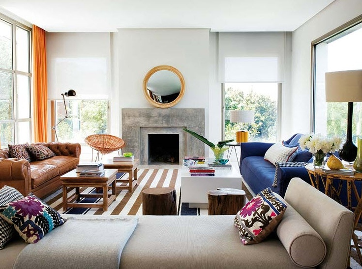 Modern eclectic living room bohemian rhapsody pinterest Modern eclectic living room