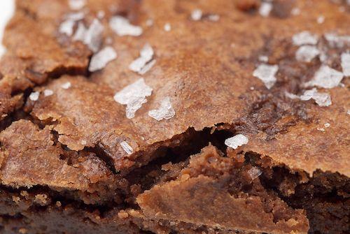 Salted Fudge Brownies | Recipe