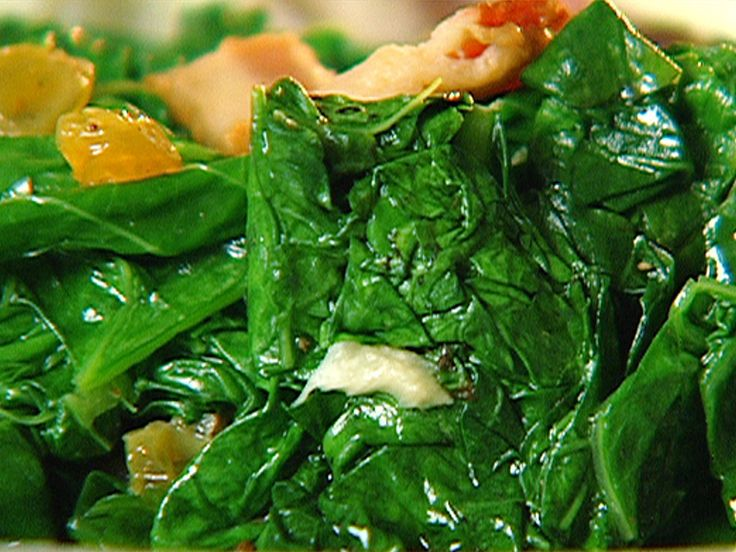 Braised Mustard Greens Recipe : Patrick and Gina Neely : Food Network ...