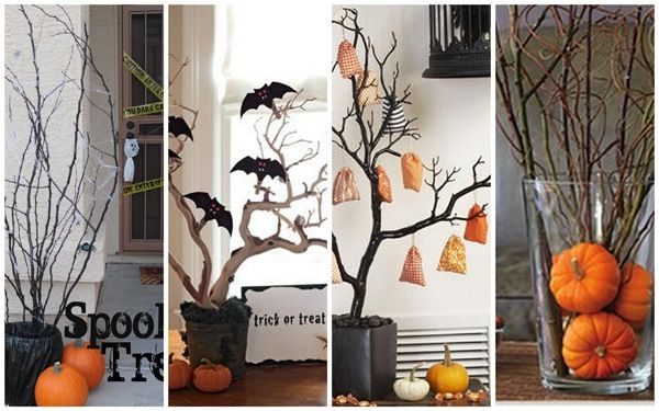 Decoracion Original Halloween ~ Pin by Laura Nava on decorated with branches and more branches!!!  P