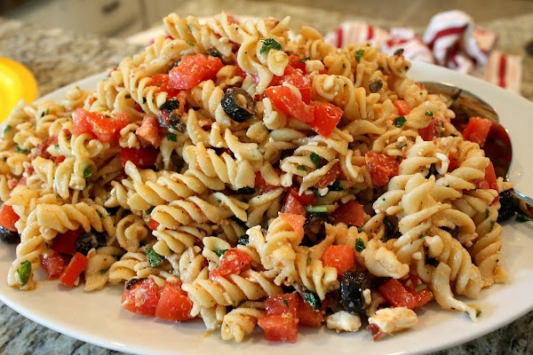 Tomato and Feta pasta salad | For the Home | Pinterest