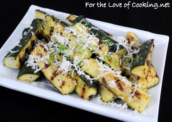zucchini with lime and cotija cheese | Food: Veggies and Sides | Pint ...