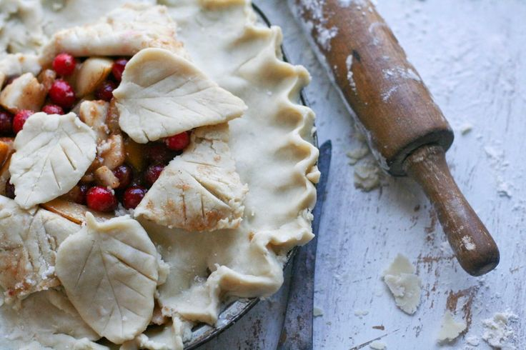 via Cranberry Pear Pie | Baking Chic… plus a little more)
