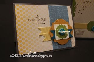 My Paper Pumpkin starter kit, Ida Chan, Stampin Up! Vancouver